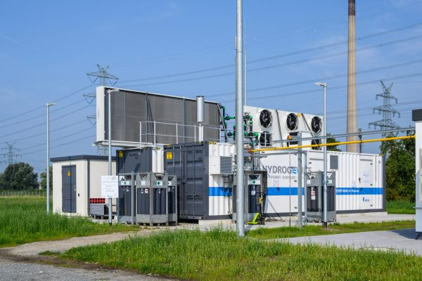 Wasserstofftankstelle Brunsbüttel